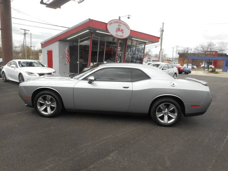 2016 Dodge Challenger for sale at The Carriage Company in Lancaster OH