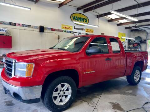 2007 GMC Sierra 1500 for sale at Vanns Auto Sales in Goldsboro NC