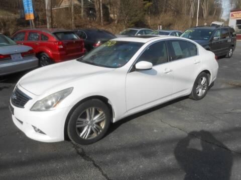 2012 Infiniti G25 Sedan for sale at AUTOS-R-US in Penn Hills PA