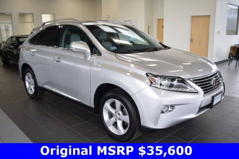 2015 Lexus RX 350 for sale at BMW OF NEWPORT in Middletown RI
