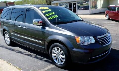 2016 Chrysler Town and Country for sale at Jim Clark Auto World in Topeka KS