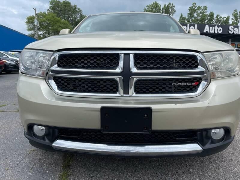 2012 Dodge Durango for sale at Daniel Auto Sales inc in Clinton Township MI