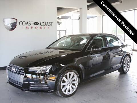 2017 Audi A4 for sale at Coast to Coast Imports in Fishers IN
