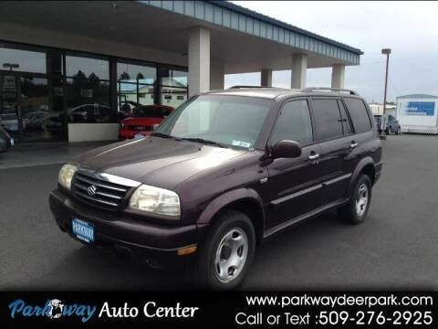 2002 Suzuki XL7 for sale at PARKWAY AUTO CENTER AND RV in Deer Park WA
