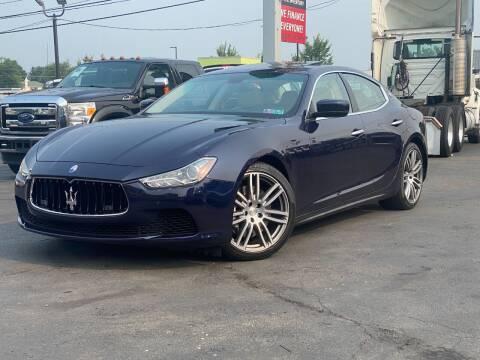 2016 Maserati Ghibli for sale at KAP Auto Sales in Morrisville PA