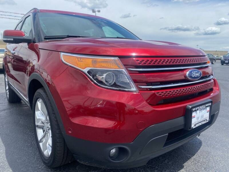 2013 Ford Explorer for sale at VIP Auto Sales & Service in Franklin OH