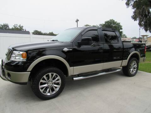2008 Ford F-150 for sale at D & R Auto Brokers in Ridgeland SC