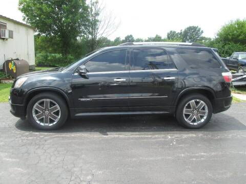 2012 GMC Acadia for sale at Knauff & Sons Motor Sales in New Vienna OH