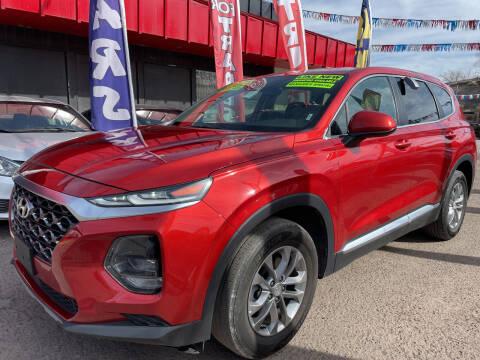 2020 Hyundai Santa Fe for sale at Duke City Auto LLC in Gallup NM