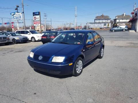 2003 Volkswagen Jetta for sale at 25TH STREET AUTO SALES in Easton PA