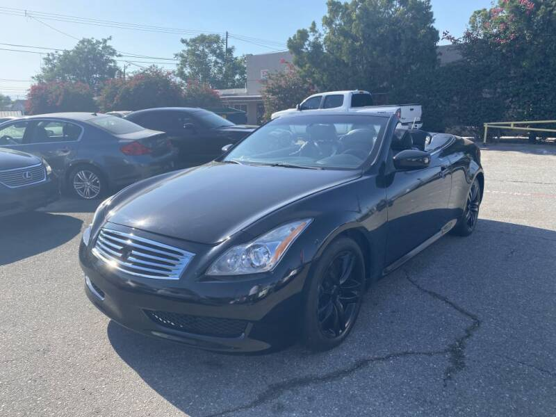 2010 Infiniti G37 Convertible for sale at AutoHaus in Colton CA
