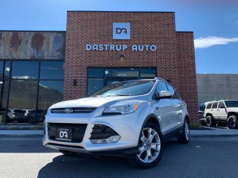 2015 Ford Escape for sale at Dastrup Auto in Lindon UT