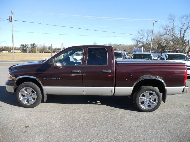 2005 Dodge Ram Pickup 1500 for sale at All Cars and Trucks in Buena NJ
