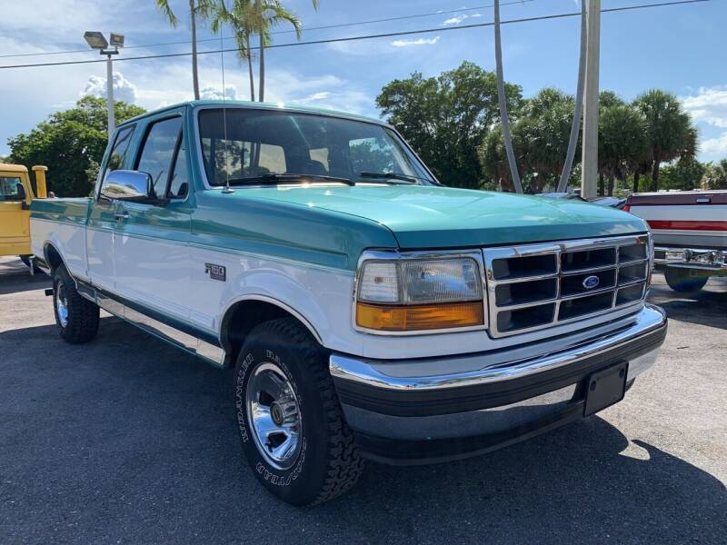1995 Ford F-150 for sale at American Classics Autotrader LLC in Pompano Beach FL
