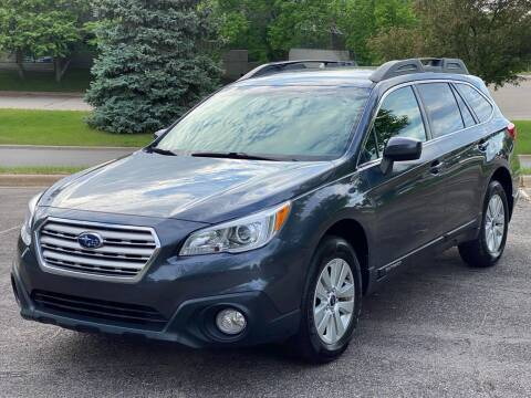 2015 Subaru Outback for sale at North Imports LLC in Burnsville MN