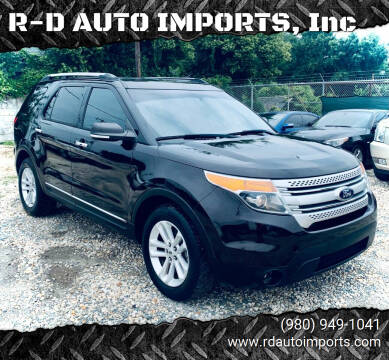 2013 Ford Explorer for sale at R-D AUTO IMPORTS, Inc in Charlotte NC