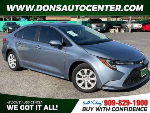 2020 Toyota Corolla for sale at Dons Auto Center in Fontana CA