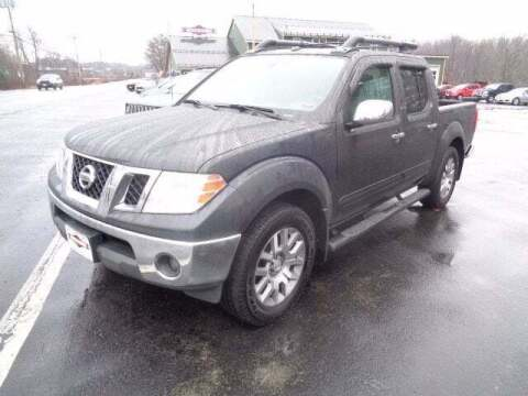 2012 Nissan Frontier for sale at SCHURMAN MOTOR COMPANY in Lancaster NH