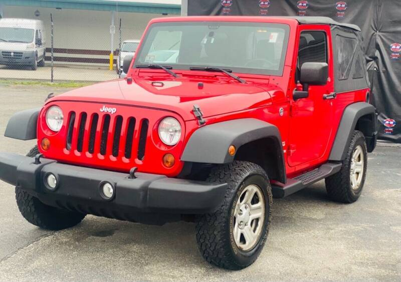 2012 Jeep Wrangler for sale at AH Ride & Pride Auto Group in Akron OH