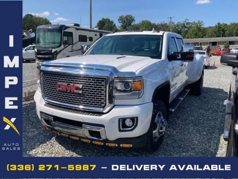 2016 GMC Sierra 3500HD for sale at Impex Auto Sales in Greensboro NC