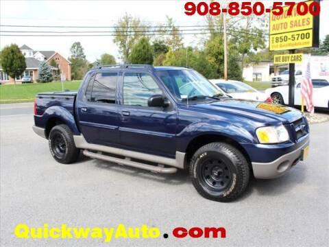 2003 Ford Explorer Sport Trac for sale at Quickway Auto Sales in Hackettstown NJ