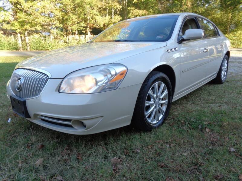 2011 Buick Lucerne for sale at Liberty Motors in Chesapeake VA