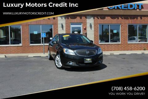 2013 Buick Verano for sale at Luxury Motors Credit Inc in Bridgeview IL