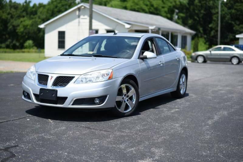 2010 Pontiac G6 for sale at Herman's Motor Sales Inc in Hurt VA