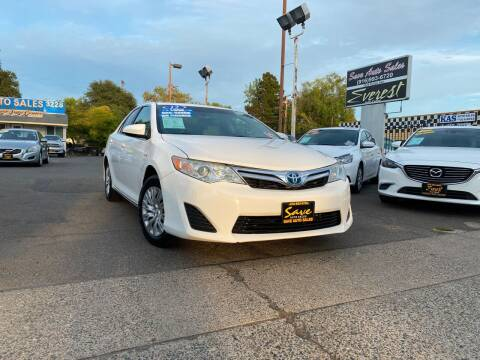 2012 Toyota Camry Hybrid for sale at Save Auto Sales in Sacramento CA