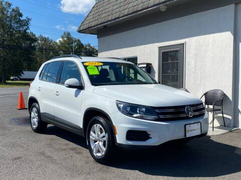 2015 Volkswagen Tiguan for sale at Vantage Auto Group in Tinton Falls NJ