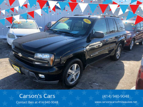 2004 Chevrolet TrailBlazer for sale at Carson's Cars in Milwaukee WI