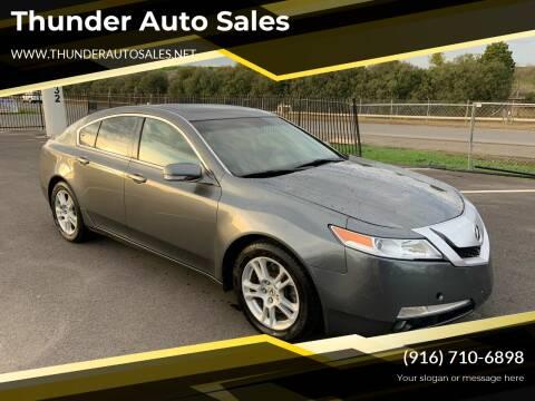 2009 Acura TL for sale at Thunder Auto Sales in Sacramento CA