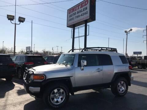 2007 Toyota FJ Cruiser for sale at United Auto Sales in Oklahoma City OK