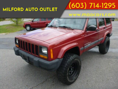 1999 Jeep Cherokee for sale at Milford Auto Outlet in Milford NH