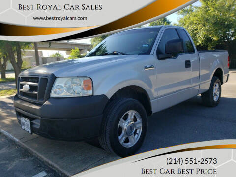 2006 Ford F-150 for sale at Best Royal Car Sales in Dallas TX