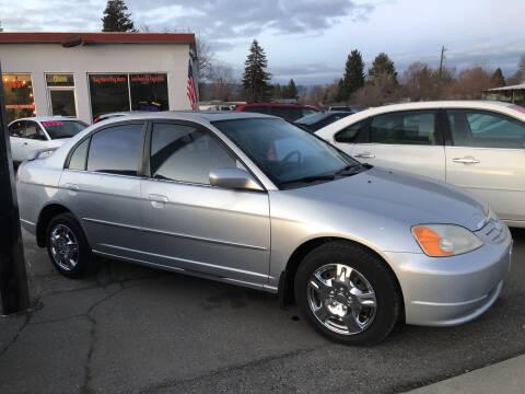 2001 Honda Civic for sale at Direct Auto Sales+ in Spokane Valley WA