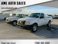 2006 Ford Ranger for sale at AML AUTO SALES - Pick-up Trucks in Opa-Locka FL