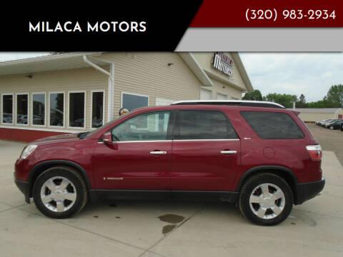2007 GMC Acadia for sale at Milaca Motors in Milaca MN