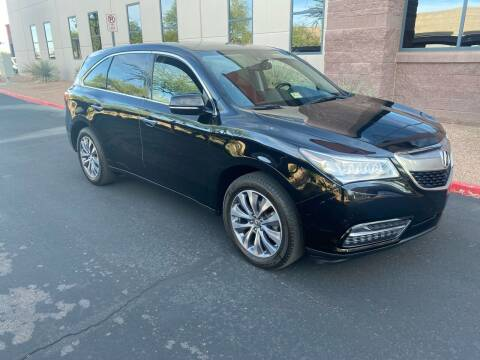 2015 Acura MDX for sale at Autodealz in Tempe AZ