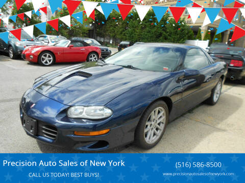 2002 Chevrolet Camaro for sale at Precision Auto Sales of New York in Farmingdale NY