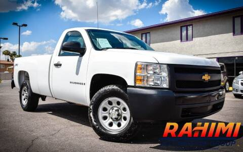 2008 Chevrolet Silverado 1500 for sale at Rahimi Automotive Group in Yuma AZ