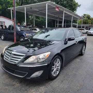 2012 Hyundai Genesis for sale at America Auto Wholesale Inc in Miami FL