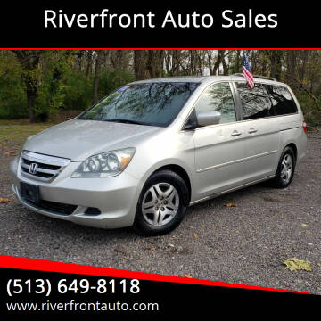 2005 Honda Odyssey for sale at Riverfront Auto Sales in Middletown OH
