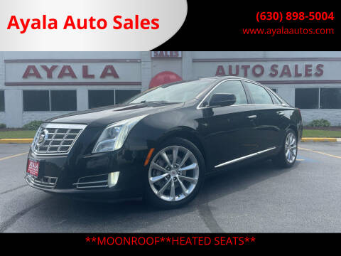 2013 Cadillac XTS for sale at Ayala Auto Sales in Aurora IL