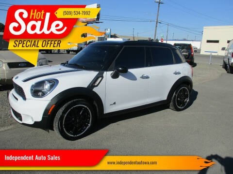 2012 MINI Cooper Countryman for sale at Independent Auto Sales #2 in Spokane WA