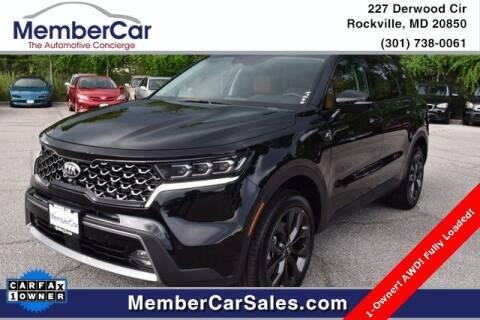 2021 Kia Sorento for sale at MemberCar in Rockville MD