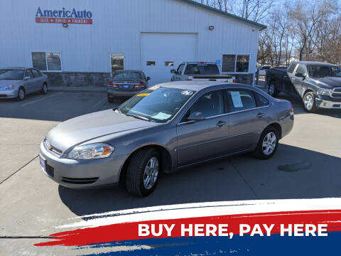 2006 Chevrolet Impala for sale at AmericAuto in Des Moines IA
