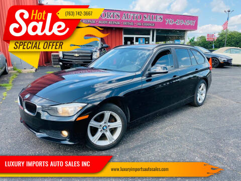 2014 BMW 3 Series for sale at LUXURY IMPORTS AUTO SALES INC in North Branch MN