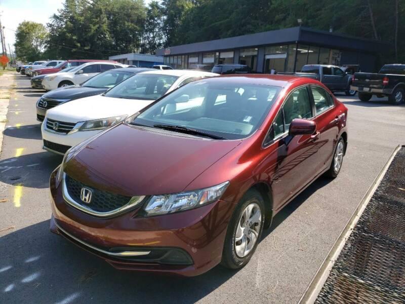2014 Honda Civic for sale at Curtis Lewis Motor Co in Rockmart GA