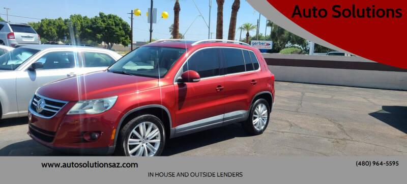 2010 Volkswagen Tiguan for sale at Auto Solutions in Mesa AZ